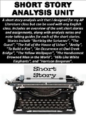 Short Story Analysis Unit