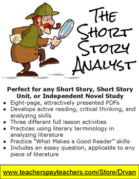 Short Story Analyst: 3 Interpretative Exercises for any Short Story or Novel