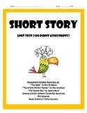 Short Story Assessment Package