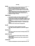 Short Story Assignment Rubric