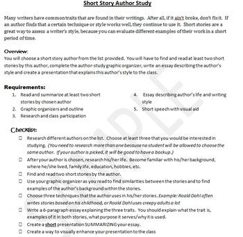 style analysis essay