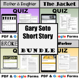 Short Story BUNDLE - Gary Soto - DISTANCE LEARNING