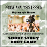 Short Story Boot Camp - Point of View