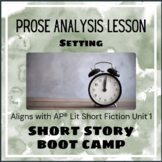Short Story Boot Camp - Setting
