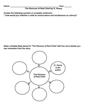 Short Story Bundle #13 O. Henry Questions, Vocab, Essays, and More