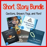 Short Story Bundle - 5 Classic Stories with Questions, Answer Keys, and More!