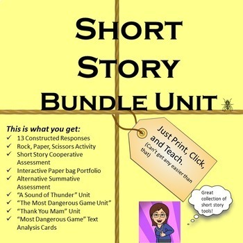 Short Story Bundle : Common Core Based