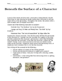 Short Story Character Analysis with Rubric