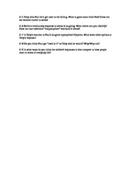 """Short Story """"Charming Billy"""" Talking Point Activity to Promote Rich Discussion"""