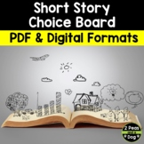 Short Story Choice Board Assignment | Distance Learning