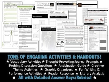 Close Reading Short Story MEGA-BUNDLE:140+ Pgs of CCSS Aligned Activities, PPTs