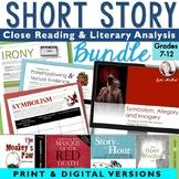 Short Story Close Reading MEGA-BUNDLE:140+ Pgs of  Activit