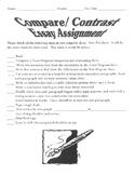Short Story Compare/Contrast Essay Assignment