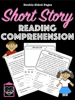 Short Story Comprehension and Extension Pages