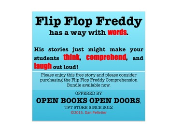 Short Story Comprehension with Flip Flop Freddy