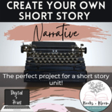 Write Your Own Short Story Narrative: Fun and Engaging Wri