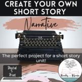 Write Your Own Short Story Narrative Creative Writing Proj