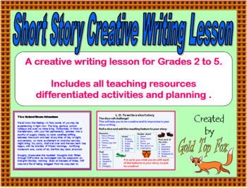 Short Story Creative Writing Lesson