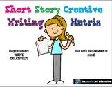 Short Story Creative Writing Matrix