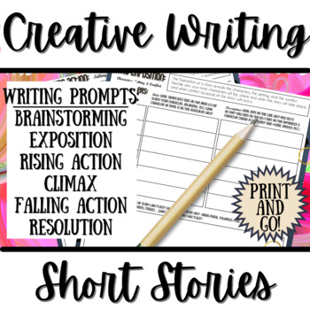 Creative Writing Short Stories: A Guide / Organizer for the Short Story Process