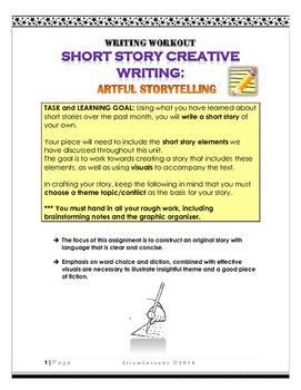 Short Story Creative Writing: Writing Workout
