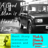"Short Story Discussion: ""A Good Man is Hard to Find"" by Fl"