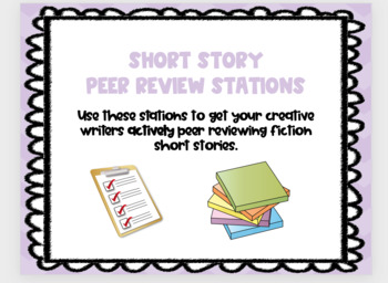 Short Story Editing Stations