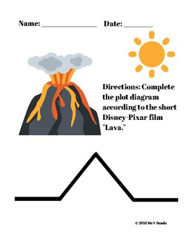Short Story Elements - Pixar Short Film: Lava