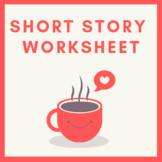 Short Story Elements Worksheet with Notes and Answers