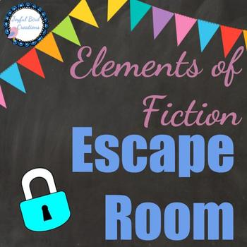 """Elements of Fiction/Short Story """"Escape Room"""" Stations Activity"""