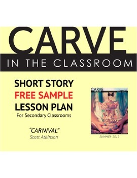"Short Story Lesson Plan (Free Sample), ""Carnival"" - Carve in the Classroom"