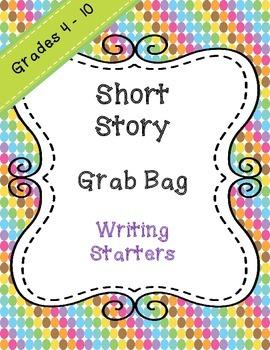 Short Story Grab Bag - Writing Starter