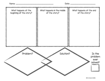 Short Story Graphic Organizer