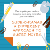 Short Story Guide-o-Rama Bundle--Editable Guided Notes wit