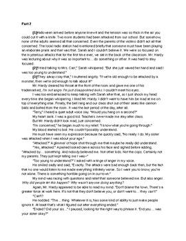 Short Story-- Hero's Journey