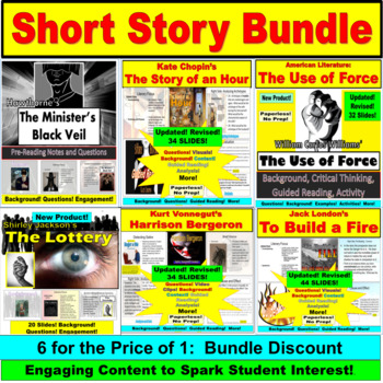 Short Story JUMBO PACK: 5 Stories in One
