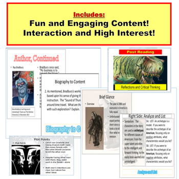 Short Story JUMBO PowerPoint Lessons: 6 Stories in One