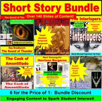 Short Story Bundle: 6 Stories in One