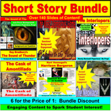 Short Story PowerPoint Bundle: 7 Stories in One