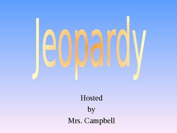 Short Story Jeopardy