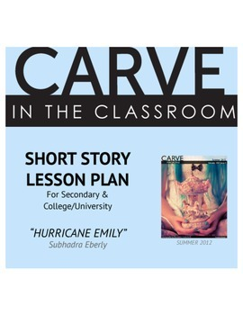 """Short Story Lesson Plan, """"Hurricane Emily"""" - Carve in the Classroom"""