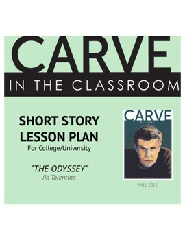 """Short Story Lesson Plan, """"The Odyssey"""" - Carve in the Classroom"""