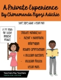 Short Story Lesson & Worksheet:A Private Experience by Chi