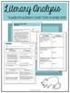 Short Story Literary Analysis Graphic Organizers *GROWING* Bundle