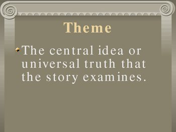 Short Story Literary Terms