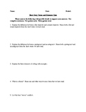 Short Story & Literary Terms and Elements Quiz - CCSS Aligned