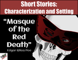 Halloween: Masque of the Red Death Poe Short Story Characterization & Mood
