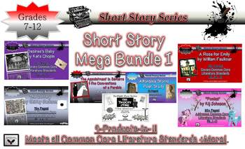 Short Story Mega Bundle Common Core Rigor