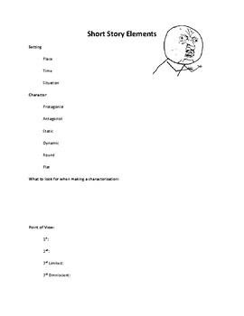 Short Story Notetaker