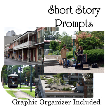 Short Story Photo Prompt - 5 Creative Writing Worksheets - no-prep!